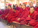 Monks of Namgyal Monastery