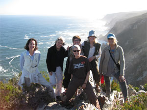 Harkerville coastline walk with relics team and friends